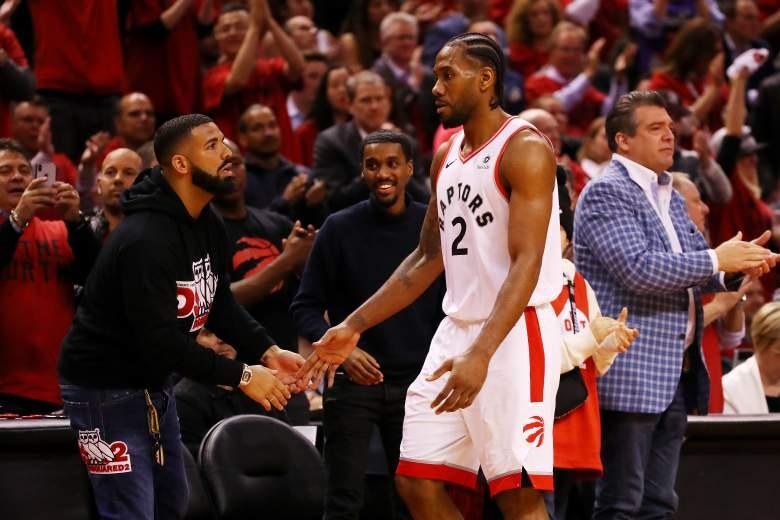 Regañan a Drake en el juego de los Milwaukee Bucks y los Raptors
