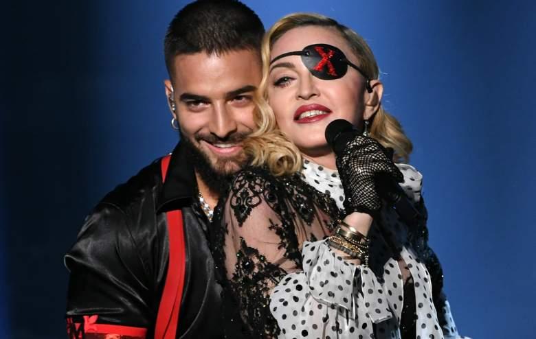 VIDEO: La presentación de Madonna y Maluma en Billboard