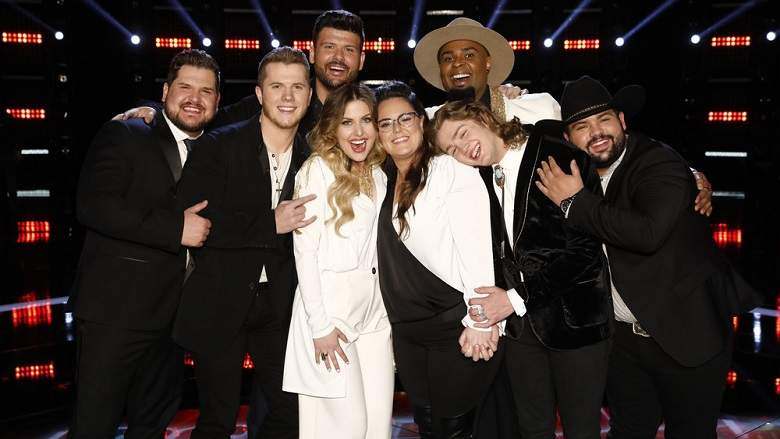 """The Voice 2019"": Top 8 Finalistas,"