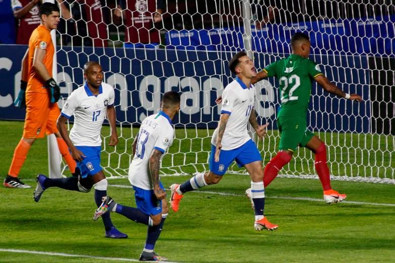 Brasil derrota a Bolivia en Copa América