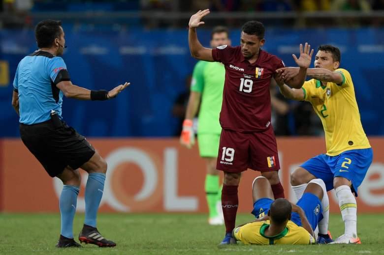 Venezuela empata con Brasil