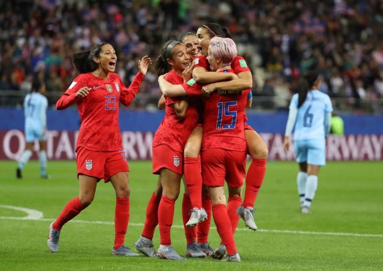 Estados Unidos goleó 13-0 a Tailandia