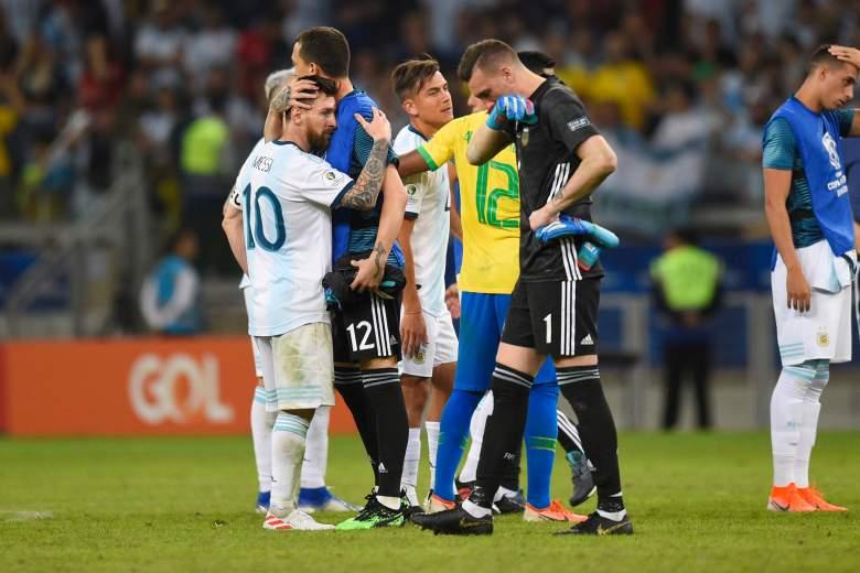 La derrota de Argentina contra Brasil dejó muy mal a Messi
