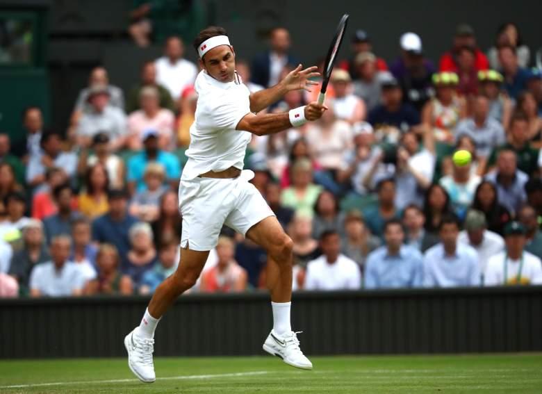 Roger Federer derrotó a Berrettini en Wimbledon