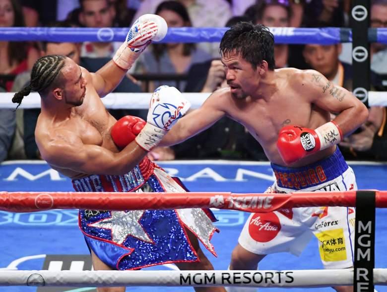 Tras derrotar a Keith Thurman, Manny Pacquiao no se retira