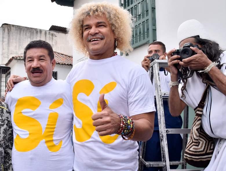 El Pibe Valderrama con el pelo liso: se despidió de sus rizos