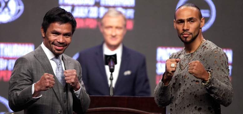 Cómo ver Pacquiao vs.Thurman en vivo LIVE STREAM