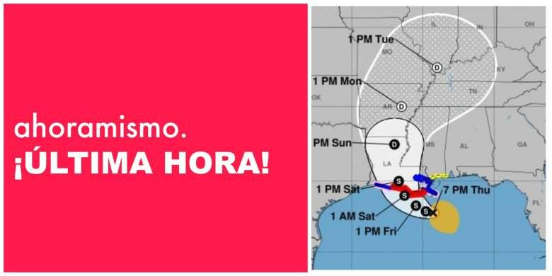 Tormenta Barry: NOAA del Centro Nacional de Huracanes