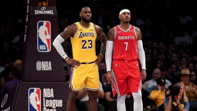 Royce White dice por qué Carmelo Anthony debe lucir el uniforme de los Lakers