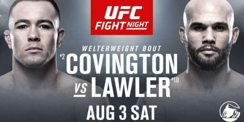 LIVESTREAM-Robbie Lawler vs. Colby Covington en vivo hoy