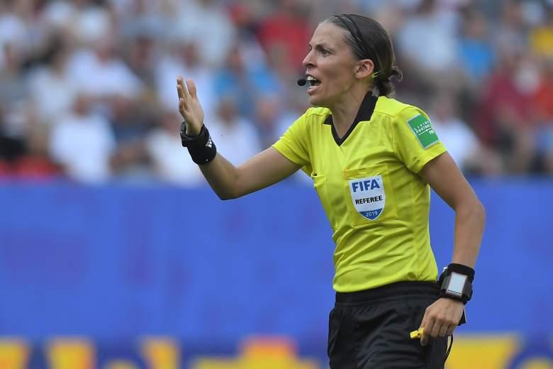 La francesa Stéphanie Frappart será la primera mujer árbitro de la Supercopa de Europa