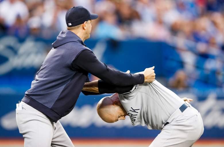 Los Yankees perdieron contra los Blue Jays, rompiendo su racha de victorias