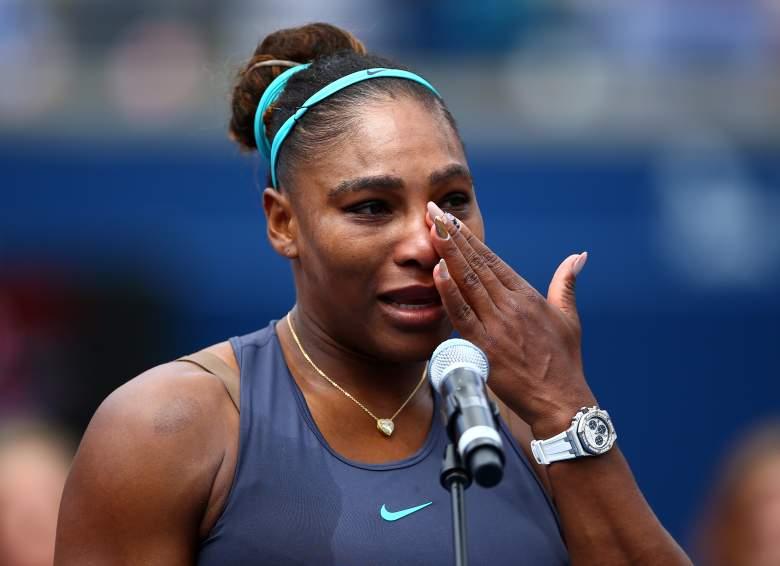 ¿Por qué Serena Williams abandonó llorando la final del WTA de Toronto?