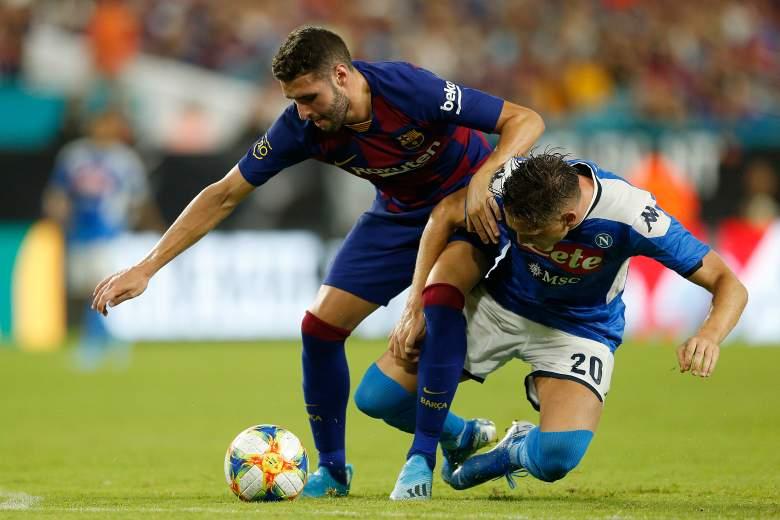 El Barcelona ganó al Nápoli en Miami, en un juego que dejó muchas dudas