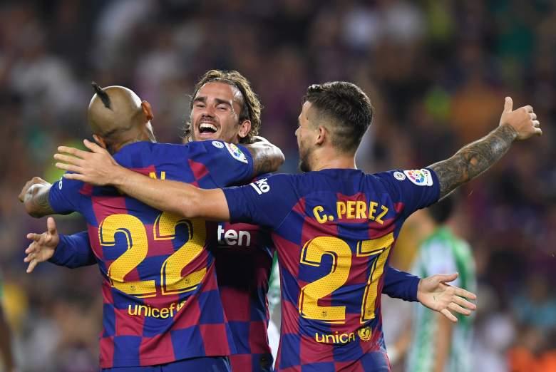 El Barcelona golea al Betis con goles de Griezmann