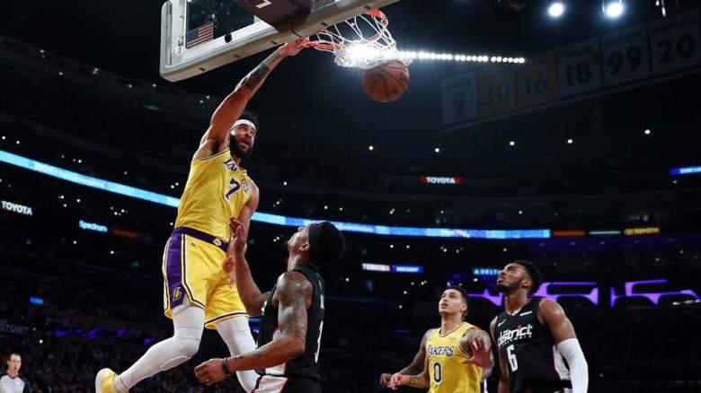 [Ver] A los Lakers JaVale McGee, Quinn Cook y KCP en divertido entrenamiento