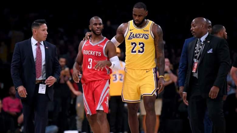 VER: Así entrenan LeBron James, Chris Paul y Carmelo Anthony
