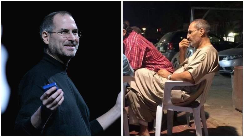 Por esta foto aseguran que Steve Jobs fingió su muerte: ¿está vivo?