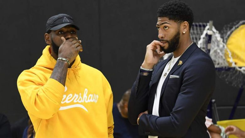 Anthony Davis: ¿Qué espera de LeBron James en la NBA 2019?