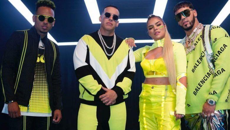 Maluma, Daddy Yankee, Regatoneros,Latin Grammys 2019:¿Por qué?, Daddy Yankee, Maluma, J. Balvin, Anuell AA