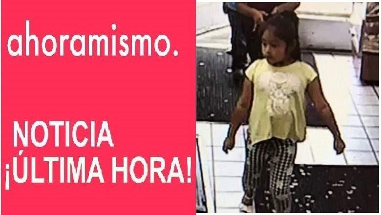 ALERTA AMBER: Dulce María Alavez de tan solo 5 años está desaparecida