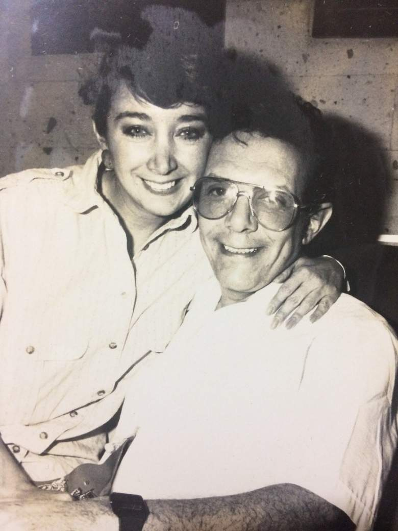 La primera foto del romance de la Chilindrina con su fallecido esposo Gabriel