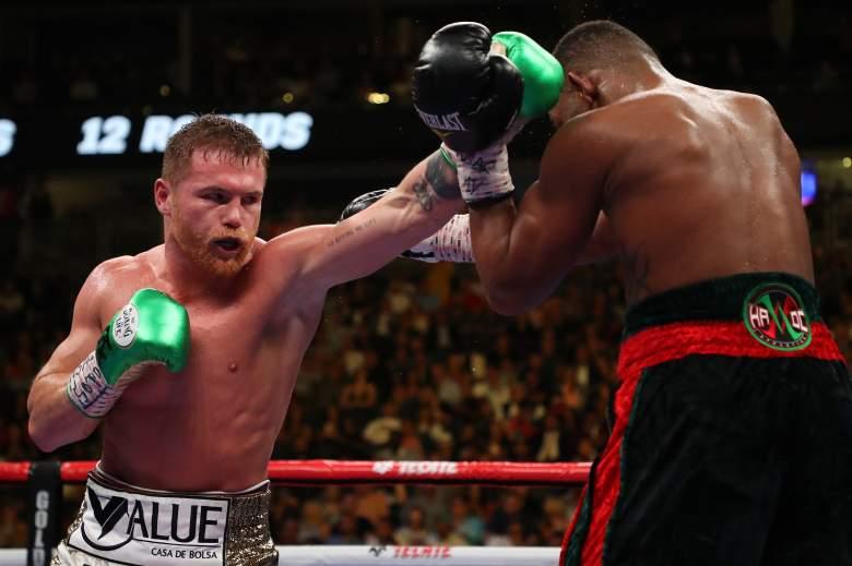 ¿Canelo está entrenando para la pelea con Sergey Kovalev?