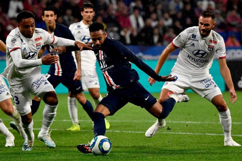El gol de Neymar del PSG contra el Lyon