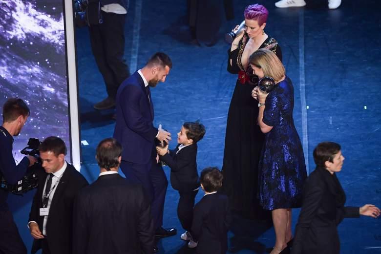 Hijos de Messi se roban el show en premiación a su padre: ¿qué hicieron?