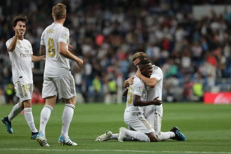 ¿Quiéh hizo los goles del triunfo del Real Madrid con el Osasuna?