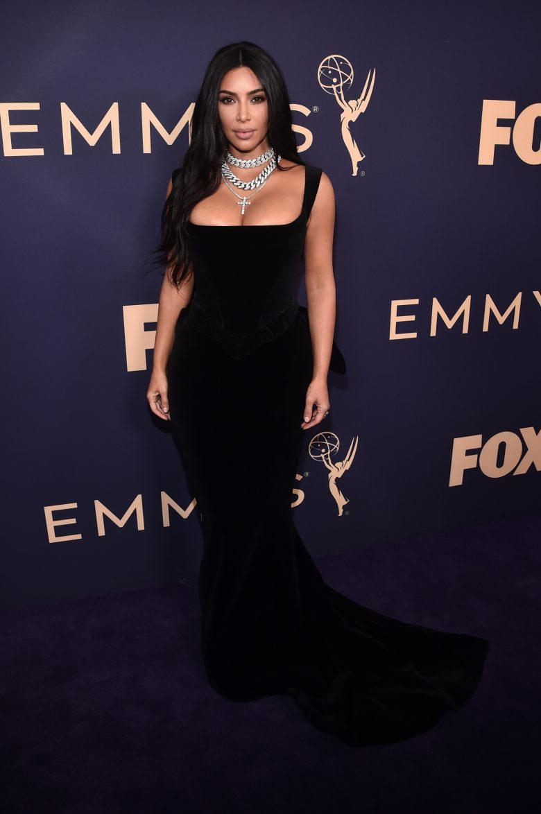 Premios Emmy 2019: Los peores looks de la alfombra roja [FOTOS], Kim Kardashian