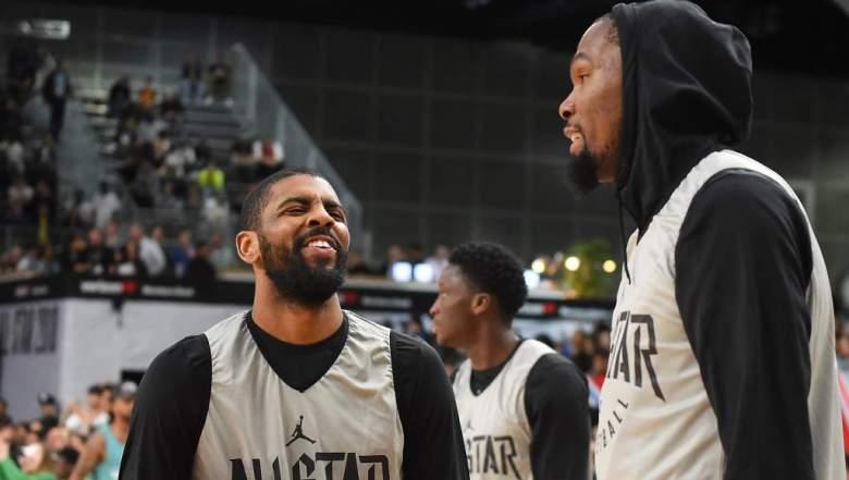 Kyrie Irving y Kevin Durant: ¿Qué estrategia seguirán en la nueva temporada?