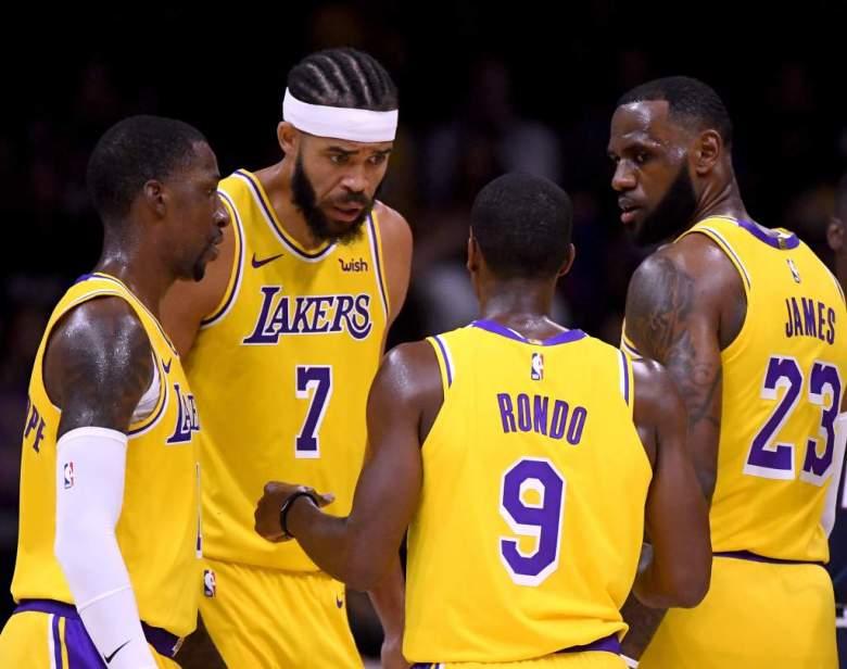 ¿Lakers Genios? LeBron James y Rajon Rondo reciben grandes elogios