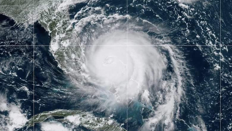 Dónde se encuentra el huracán Dorian? Live Stream Florida