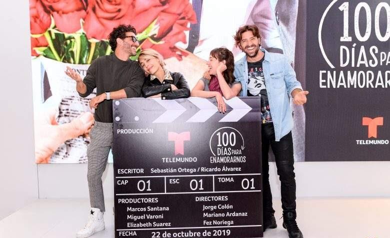 100 Dias Para Enamorarnos Cuando La Estrenan Por Telemundo