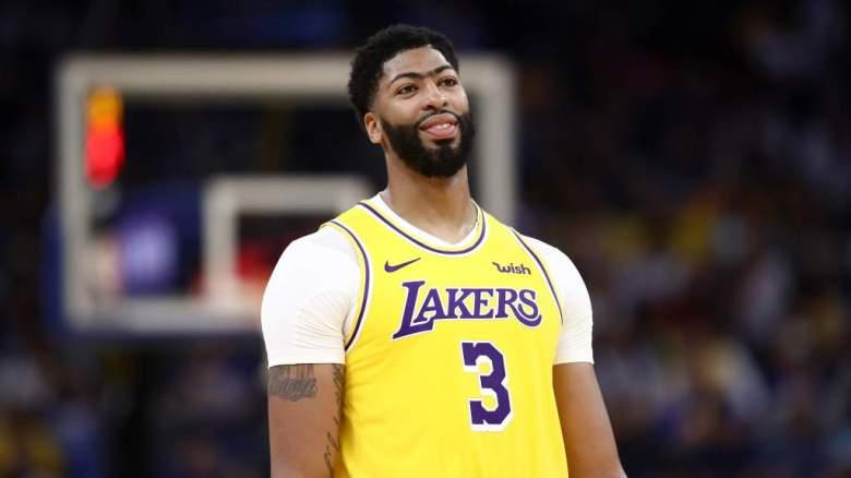 VER: Sí anotó sus primeros puntos Anthony Davis con Lakers, NBA