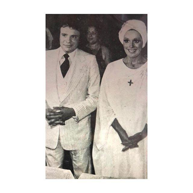 La foto de la boda de José José con Anel Noreña: ¿por qué ella la presume?