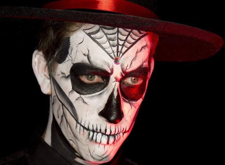 Maquíllate como Calavera para Halloween en 5 pasos [FOTOS], JLO