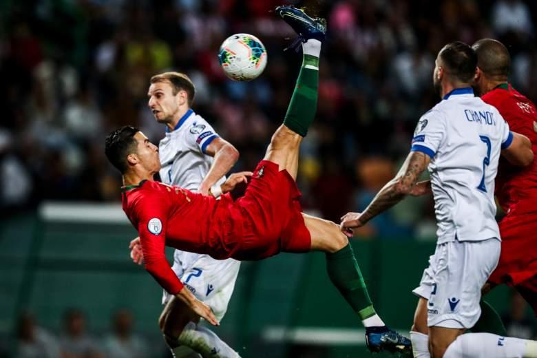 Cristiano Ronaldo anota su gol número 700