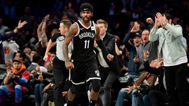 [VER] Así celebró Kyrie Irving con su padre el triunfo de los Nets