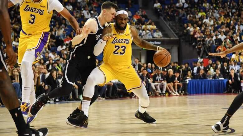 Lakers y Nets: ¿Por qué no pueden declarar en China?