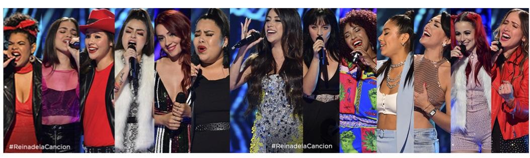 Reina de la Canción 2019: ¿Quiénes son las 12 finalistas?