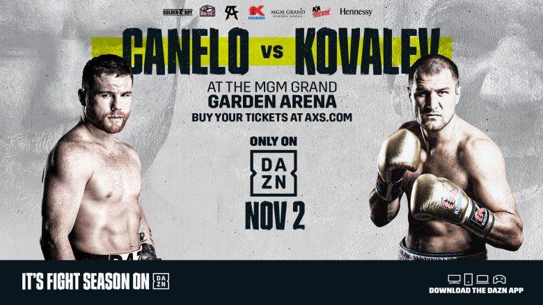 Canelo vs Kovalev: ¿Cuánto cuesta ver la pelea por DAZN?