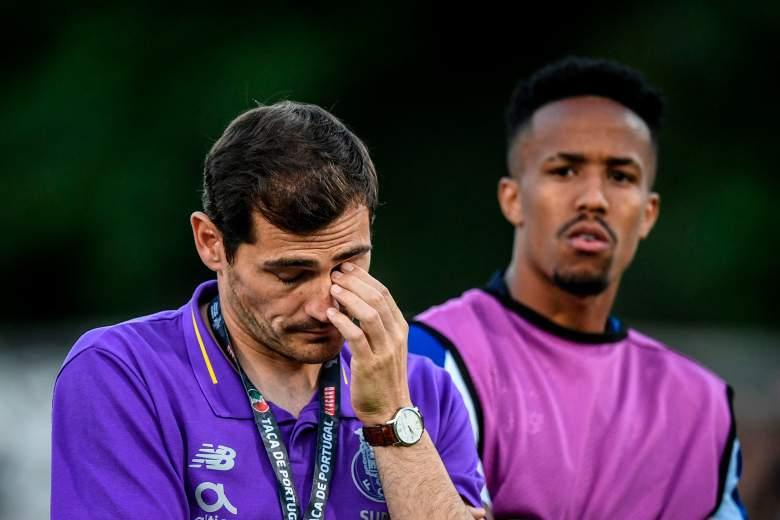 Reaparece Iker Casillas en el Porto tras infarto