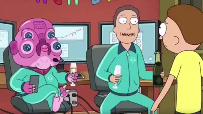 """¿Quién es Glootie en """"Rick and Morty""""? ¿Ha estado en un episodio antes"""