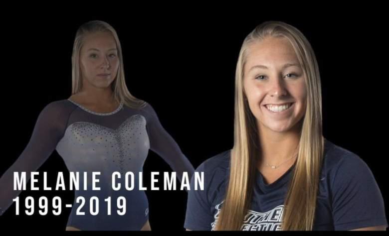 Muere Melanie Coleman a los 20 años : ¿cómo fue el accidente de la gimnasta?