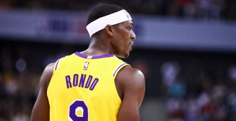 Multaron a Rajon Rondo de Los Lakers: ¿Por qué? ¿Cuánto tiene que pagar?