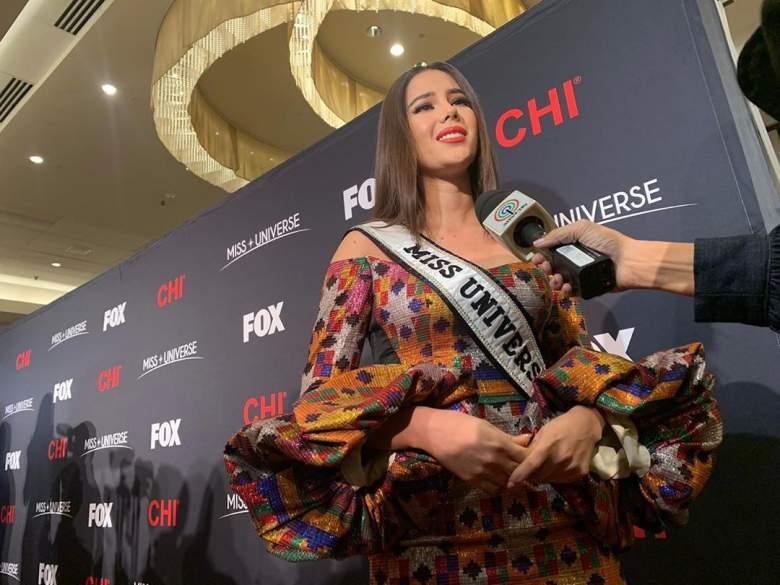 Escucha a la Miss Universo Catriona Gray hablando español: ¿qué tal le sale?