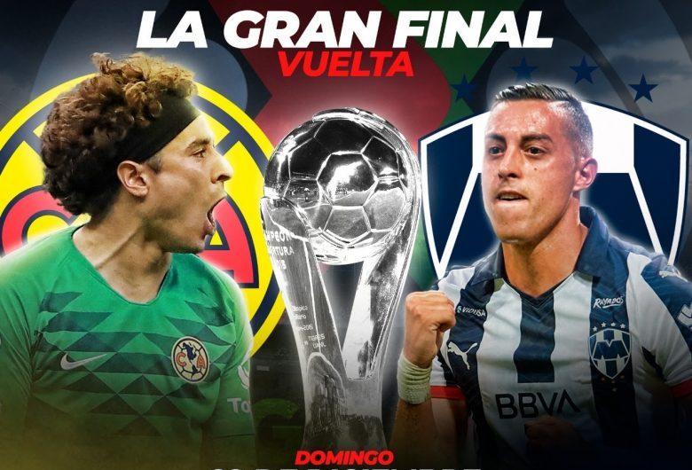 LIVESTREAM:FINAL Liga MX 2019-Club América vs. Monterrey