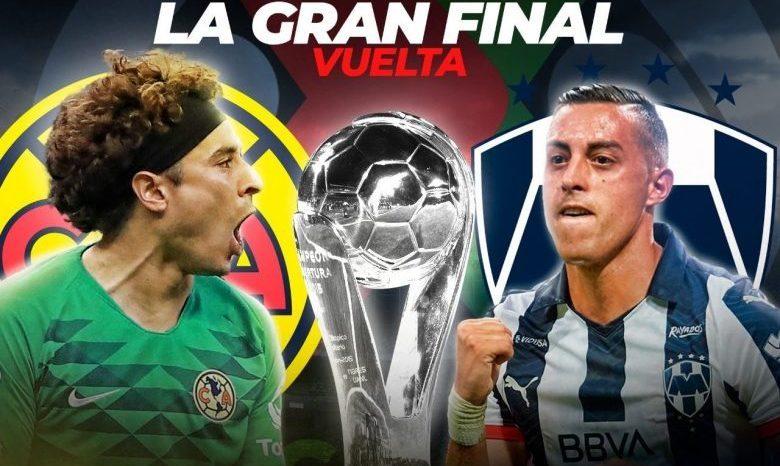 FINAl-Liga MX 2019-Club América vs. Monterrey:¿A qué hora es hoy? ¿Canal?